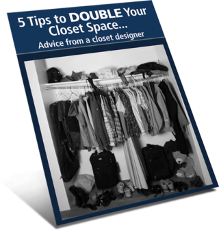 Download Free How to Double Your Closet Space Guide by Patriot Planned Spaces