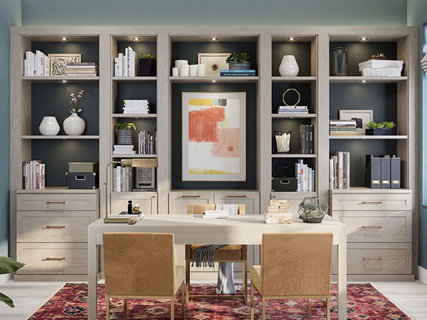 Custom Home Office Solution by Patriot Planned Spaces