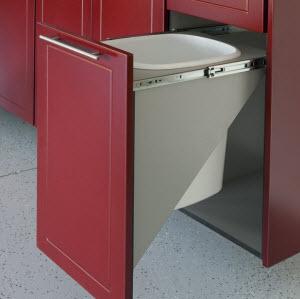Pull Out Trash Cabinets by RedLine GarageGear