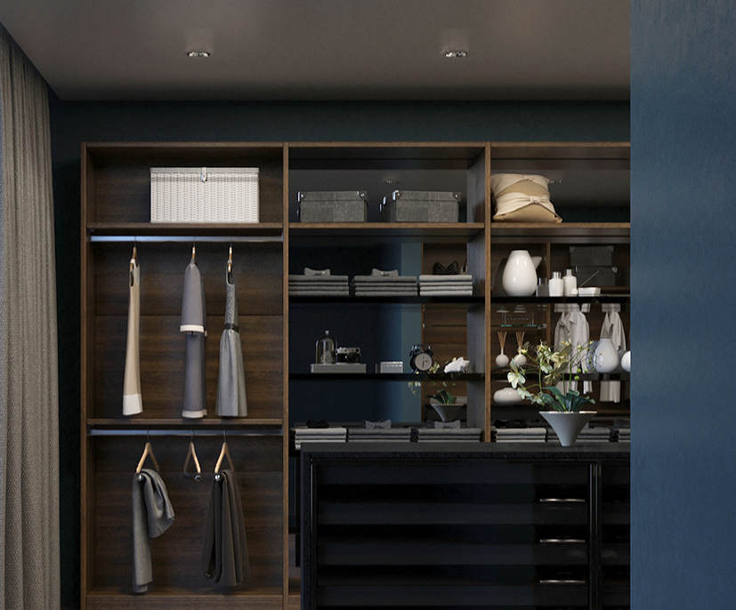 Custom Closets Design by Patriot Planned Spaces