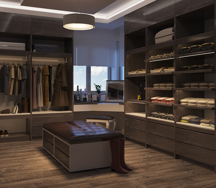 Custom Closet Solutions by Patriot Planned Spaces