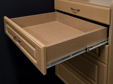 MDF Drawer Style by Patriot Planned Spaces