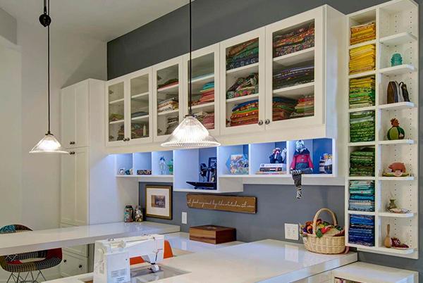 Custom Craftroom Furniture by Patriot Planned Spaces