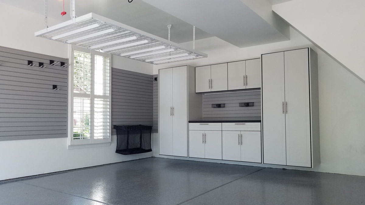 Overhead Garage Storage by Patriot Planned Spaces