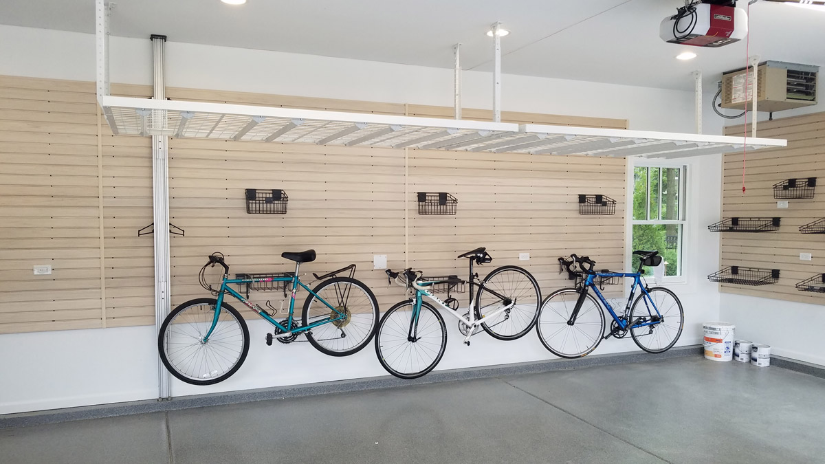 Slatwall and Garage Wall Storage by Patriot Planned Spaces