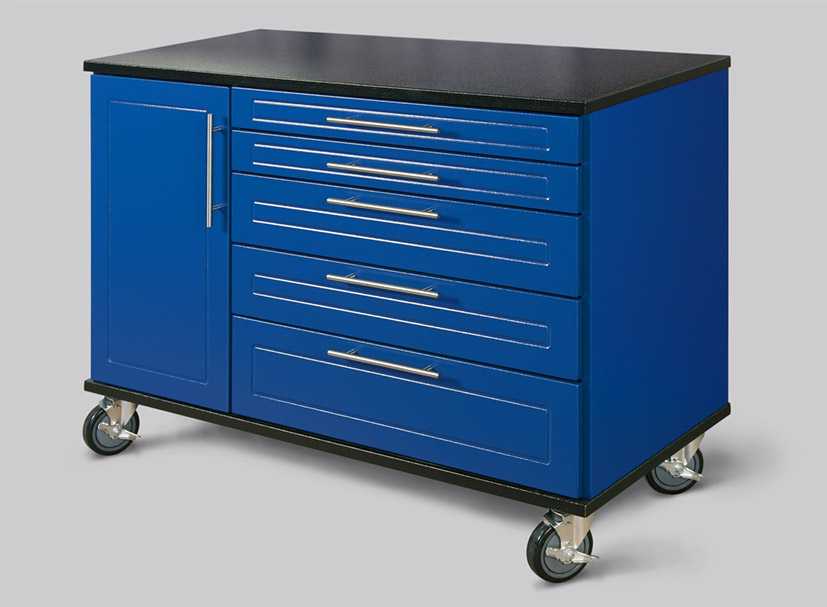 48″ Rolling Workbenches by Patriot Planned Spaces