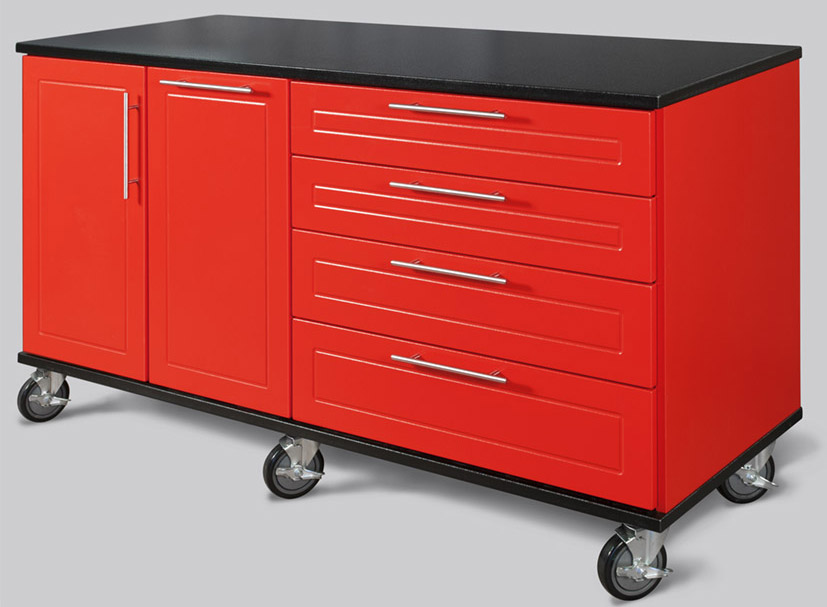 64″ Rolling Workbenches by Patriot Planned Spaces